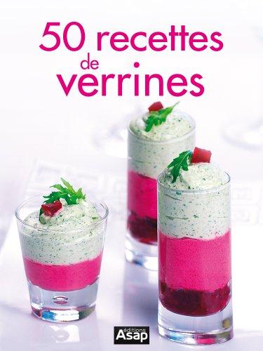 Couverture du livre 50 recettes de verrines