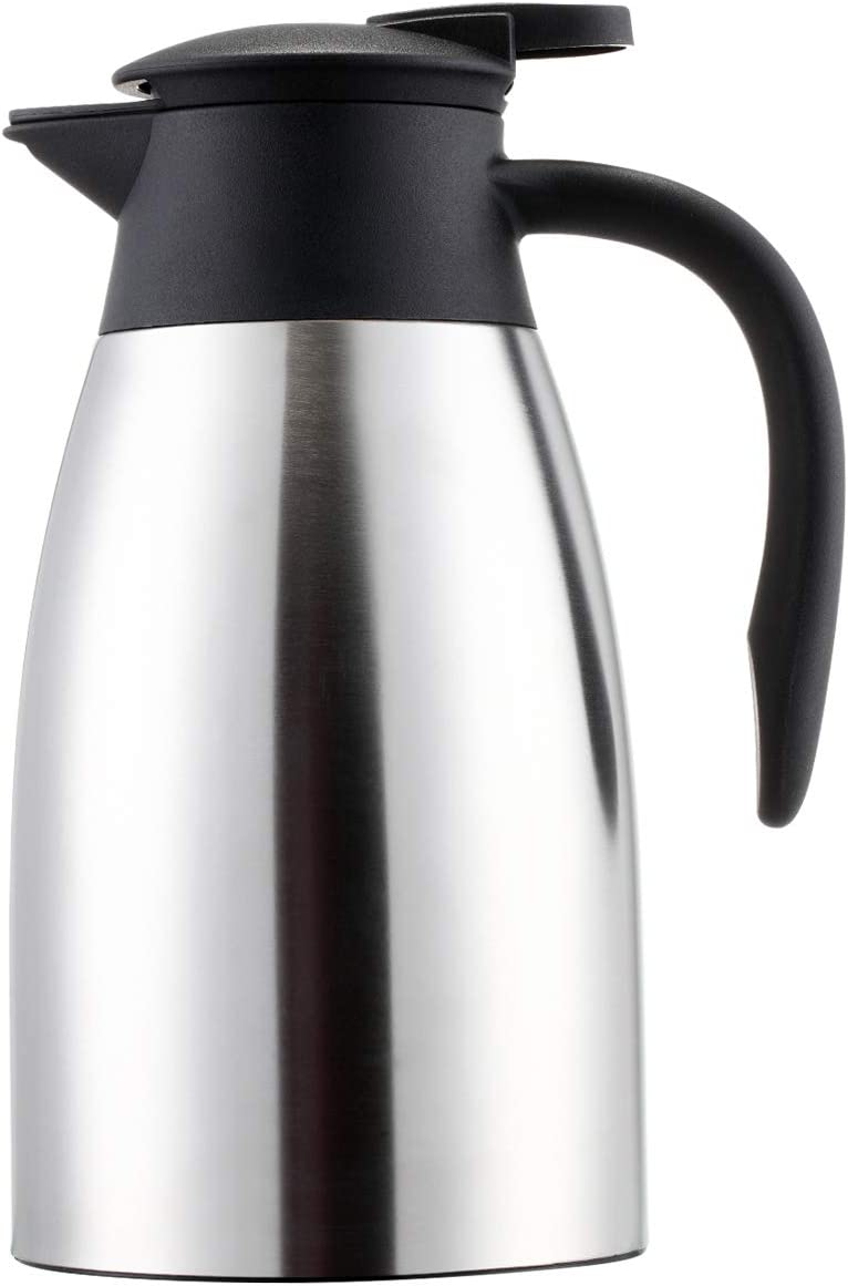 Sumerflos 1.5L 50 Oz Max 59% OFF Thermal Coffee Double Ranking TOP11 - Wall Carafe Stainle