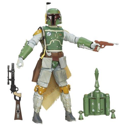 Toy Zany Star Wars Black Boba Fett 6 Inch Figura De Acción
