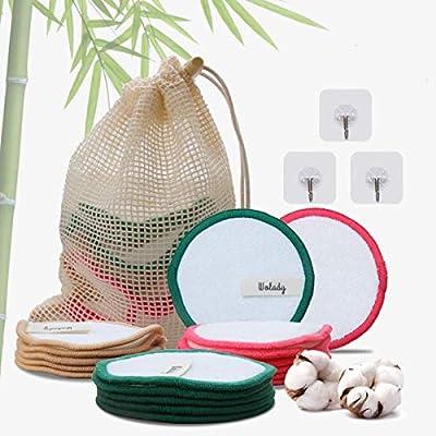 Discos Desmaquillantes Reutilizables Bambú