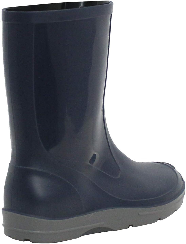 A/&H Footwear Boys Girls Unisex Youth Kids PVC Slip On Waterproof Rain Puddle Wellies Wellington Boots UK 10-2.5