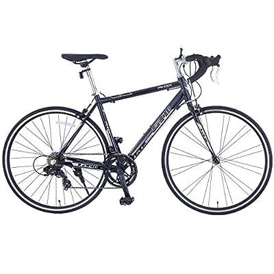 Murtisol Aluminum Comfort Bike 26'' Commuter Bike Mountain Bike Hybrid Bike for Men & Women 21 Speeds Derailleur, Front & Seat Suspension, Adjustable Seat & Handlebar in 4 Colors