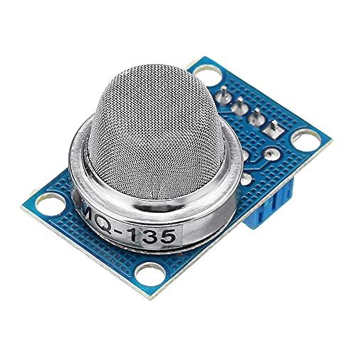 ZJF Componentes de la computadora Accesorios eléctrico 10pcs MQ-135 AMONIO Sulfuro Benceno Sensor de Gas Sensor Módulo Módulo Shield LIQUEFIADO Detector electrónico Módulo