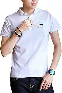 [ Smaids x Smile (スマイズ スマイル) ]ポロシャツ 半袖 T ゴルフウェア シンプル 無地 カジュアル トップス メンズ