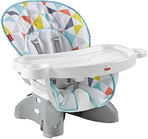 Fisher-Price SpaceSaver High Chair, Luminosity [Amazon Exclusive]