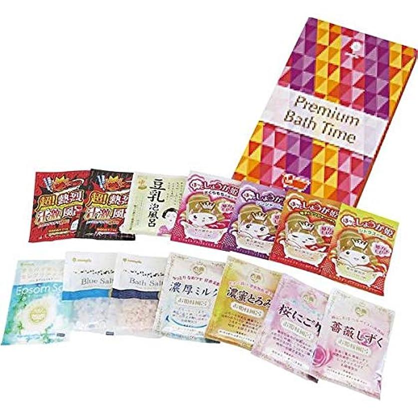 飢麻痺させる債務日本製 made in japan プレミアムバスタイム 14包入り(化粧箱入) K-2528【まとめ買い12個セット】