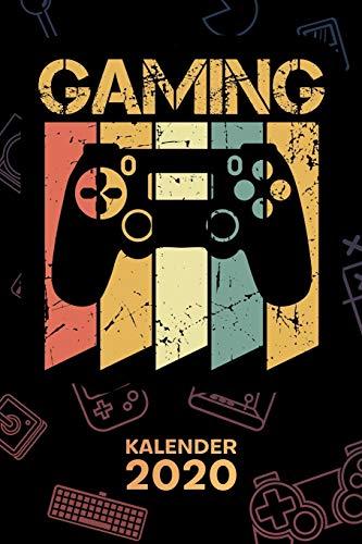 KALENDER 2020: A5 Games Terminplaner für Konsolen Spieler mit DATUM - 52 Kalenderwochen für Termine & To-Do Listen - Retro Gaming Terminkalender Daddeln Jahreskalender Retro Gamer