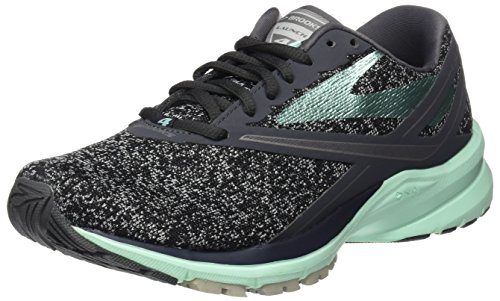 Brooks Launch 4 Anthracite/Beach Glass/Silver 6.5
