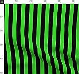 Grün Und Schwarz, Zirkus, Streifen, Grün, Hexe Stoffe -