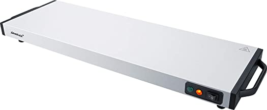 Steba WP 120 Plaque chauffante 1200 en acier inoxydable et noir