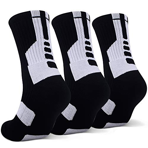 Best Buy! Thick Protective Sport Cushion Elite Basketball Compression Athletic Socks