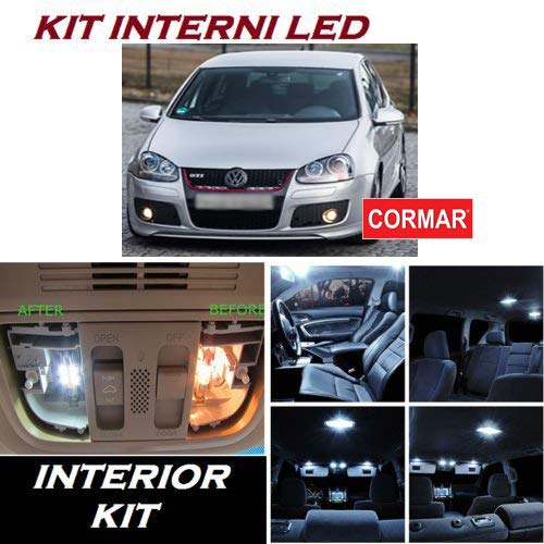 Kit LED Interni Golf 5 V CONVERSIONE Interni Completa