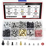 DYWISHKEY Computer Screws Standoffs Set Assortment Kit, 340 PCS