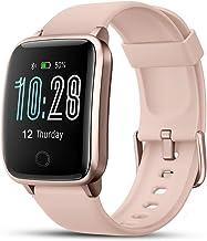 LIFEBEE Smartwatch, Reloj Inteligente Impermeable IP68 con Monitor de Sueño Pulsómetros..