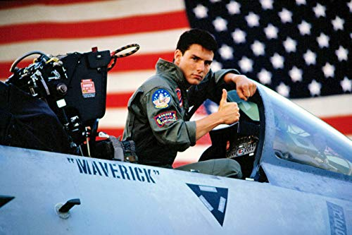 Top Gun Poster Print, Wall Art, Artwork, Posters for Wall, Tom Cruise Picture Game Room Poster, Canvas Art, No Frame Poster, Original Art Poster Gift Size 24''x32'' (61x81 cm)