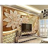 Newberli Papier Peint Personnalisé Hd Peintures Murales Diamant Soft Pack Diamant...
