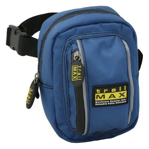 Trailmax 500 - Bolsa delantera - Equipaje para silla vaquera de cowboy - Azul