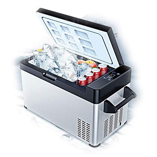 Refrigerador De Automóvil De Compresor para Refrigeración, Mini Refrigerador De Camión Refrigerado De Doble Uso para Automóvil Y Hogar, Diseño Silencioso