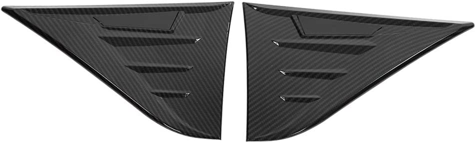 price KIMISS 2 pcs Discount is also underway Carbon Fiber Style Car Front Cover Side Fender Wing