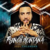 French Montana 2021 Calendar: 2021: Weekly-Monthly-Yearly Calendar with French Montana