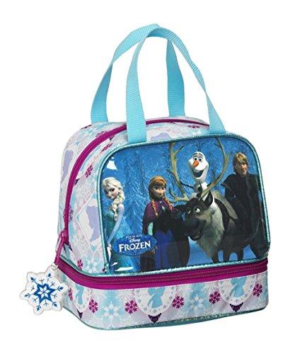 Frozen Friends Forever Portameriendas, Color Azul