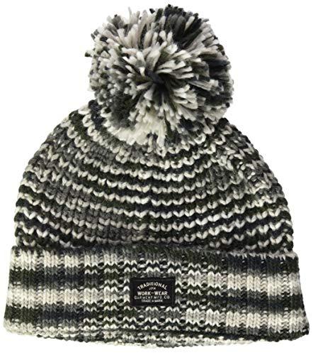 Superdry Womens Beanie Hat, Grey Space Dye, Einheitsgröße