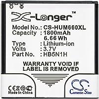 交換用バッテリー Huawei Ascend Y330-U01, Buddy, C8812, G300, M660, Phoenix, T8828, U8680, U8730, U8812D, U8815, U8818, U8825-1, U8825D, Unite Q, Wvga, Y221-U12 3.7V/1800mA