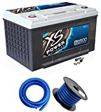 XS Power D6500 3900 Amp Car Audio Battery+Terminal...