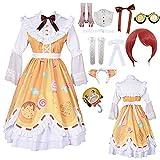 Game Identity V Mecánico Candy Girl Cosplay Disfraces Mecánico Tracy Reznik Lolita Vestidos Halloween Gótico Princesa Vestido Disfraz para Mujer