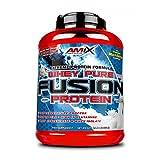 Amix Whey Pure Fusion Proteína de Suero, sabor Vainilla - 2,3 kg