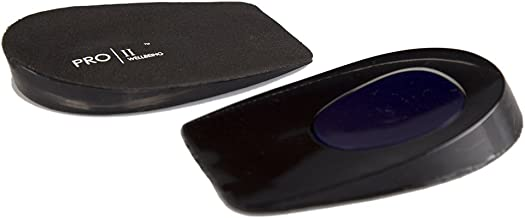 Pro11 Gel Heel pad with Raised Dynamic Micro Pro-Gel to Absorb Shocks for Heel Pain & Plantar Fasciitis