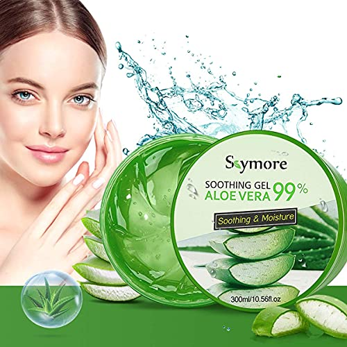 Skymore 300ml Gel d'Aloès, Aloe Vera Gel, Gel...