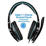 ELECTROPRIME Sades Sa903 Gaming Headphone with Mic Noise Cancelling USB 7.1 Surround Ste