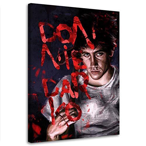 Wandbild Kinofilm 15x21 cm Druckbild Leinwandbild Darsteller Rot