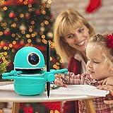 KKTECT Robot Artist, Robot Da Disegno Automatico Intelligente Robot Che Dipinge Il Vestito Include 4 Libri 38 Carte e 2 Penne Giocattolo Robot Educativo Intelligente Ricaricabile USB