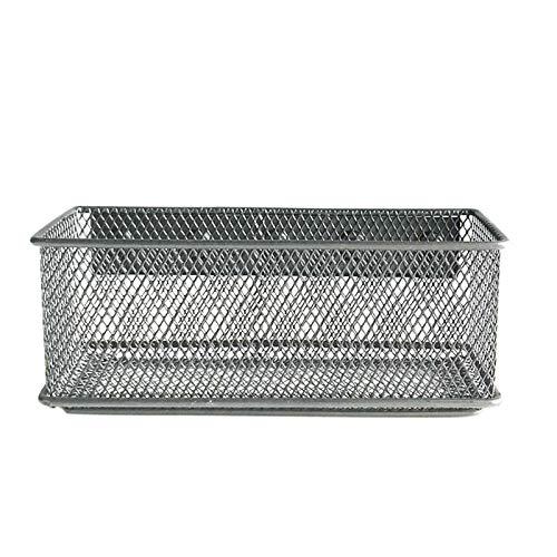 Foldable Storage, Wire Mesh Office Magnetic Whiteboard for Refrigerator Storage Basket Desk Tray for Organizing Shelf Nursery Home Closet