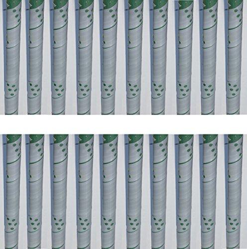 EXCOLO 20 Baumschutz Manschetten Stamm Schutz Bäume Verbiss Fraßschäden Baum Rinden Schutz Farbe Grau