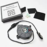 2' 9V ANGLED COOLING FAN KIT - Cosplay Costume...