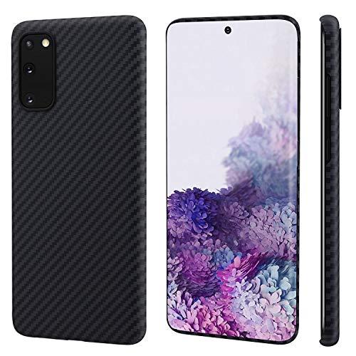 pitaka MagEZ Case, ultradünn, magnetische Hülle für Samsung Galaxy S20 (6,2