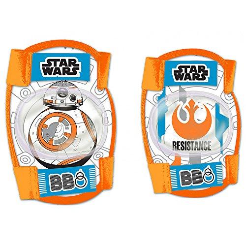 Disney Bambini Gomito Knee Protectors Star Wars Sports, Multicolore, S