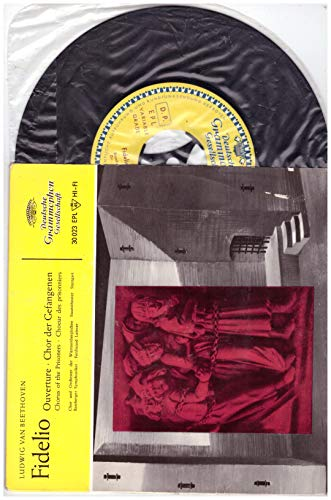 "Ludwig van Beethoven - Chor* Und Orchester Der Württembergischen Staatstheater Stuttgart, Bamberger Symphoniker, Ferdinand Leitner – Fidelio - Ouverture - Chor Der Gefangenen 7\"" Vinyl Single"