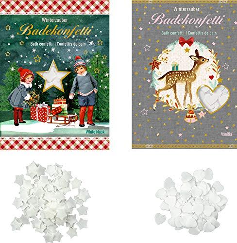 Spiegelburg 2-delige set badconfetti wintermagie White Musk of Vanilla 15 g