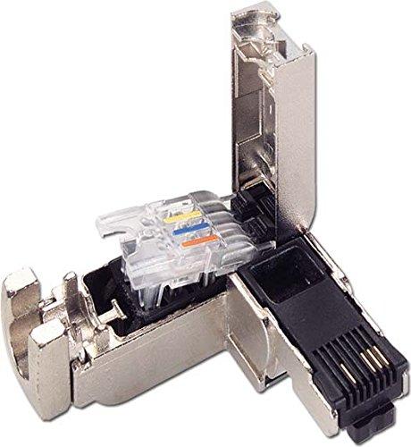 Siemens SIMATIC NET Set RJ45Stecker Schutzhülle Metalica Ausgang Kabel 90(10U)
