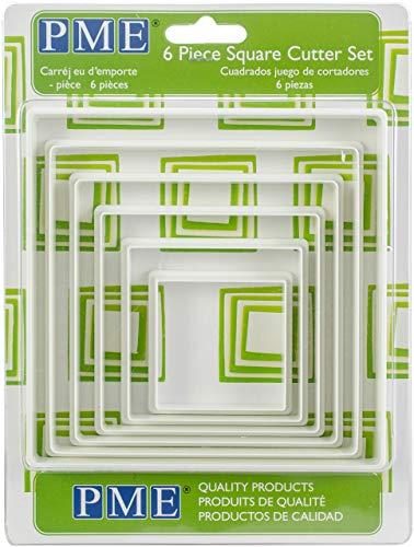 PME Plastic Cutter Square 6/Set