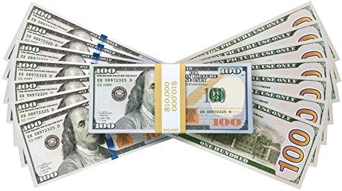 PROP MONEY REALISTIC AMERICAN DOLLARS $10