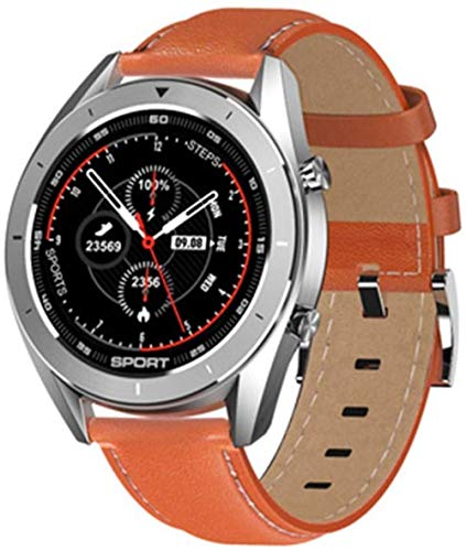 Dt99 Smartwatch Ip68 Wasserdicht Rund HD-Bildschirm EKG-Erkennung Austauschbares Zifferblatt Smart Watch Fitness Tracker Herren D Fashion-B