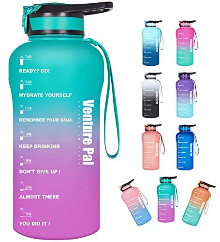 Venture Pal Large Half Gallon/64oz Motivational Water Bottle with...