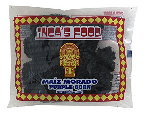 Inca's Food Maiz Morado or Purple Corn 15 oz - Product of Peru