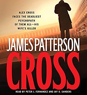 Cross audiobook cover art