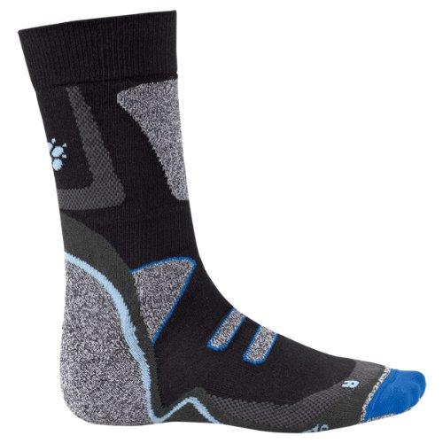 Jack Wolfskin Thermolite Cross Trail Sock Black